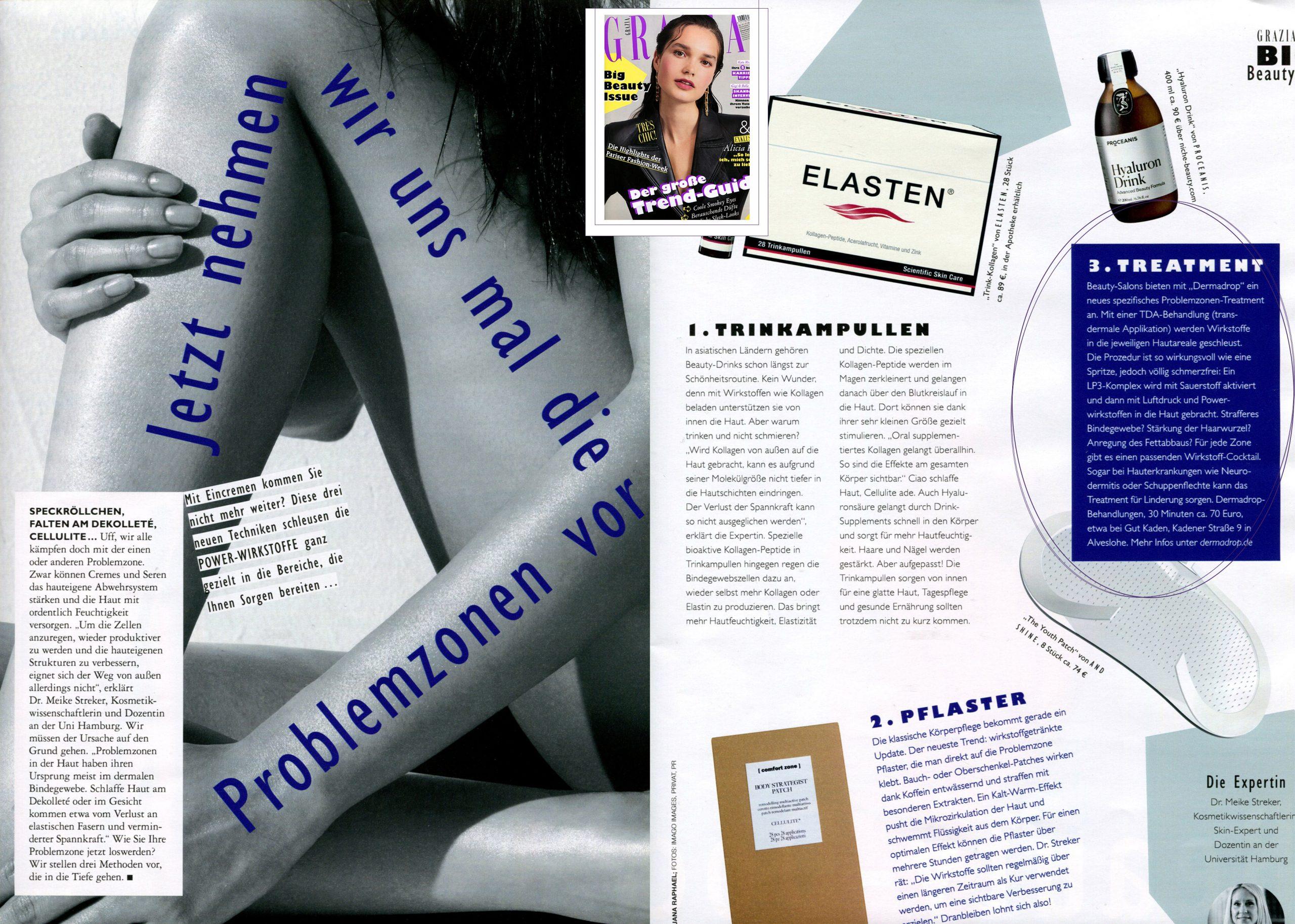 GRAZIA Publication DERMADROP